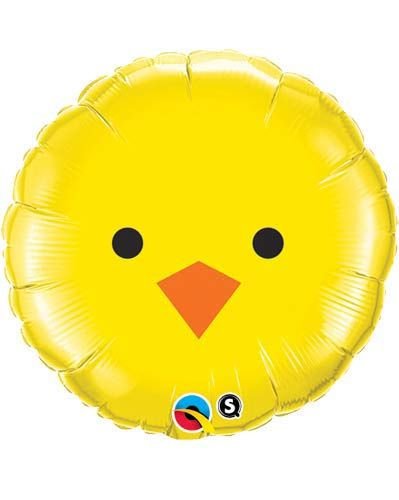 Baby Chick Foil Balloon 46cm