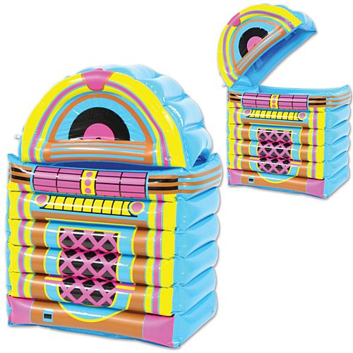 Inflatable Jukebox Drinks Cooler - 77.5cm