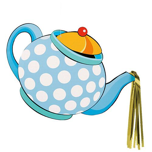 Mad Hatter Tea Party Large Hanging Decoration - 35.5cm