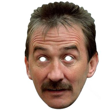Paul Chuckle Card Mask