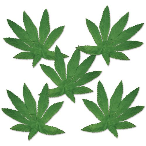 Tropical Fern Leaves - 10.2cm - Pack of 20