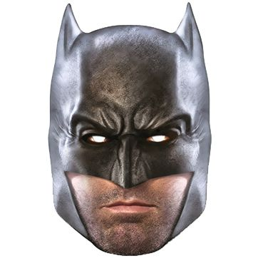 Batman Dawn of Justice Card Mask
