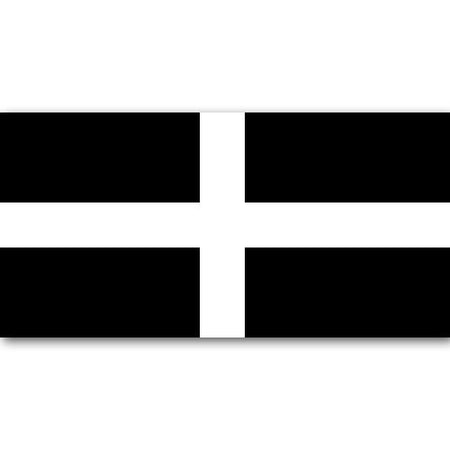 Cornish Polyester Fabric Flag 5ft x 3ft