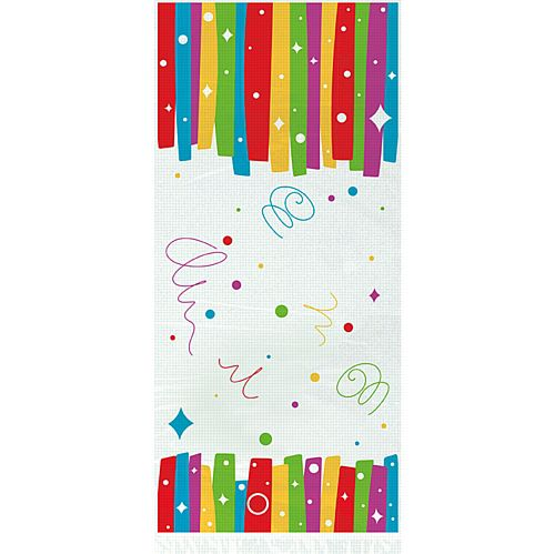 Rainbow Ribbons Birthday Cello Bags - Pack of 20