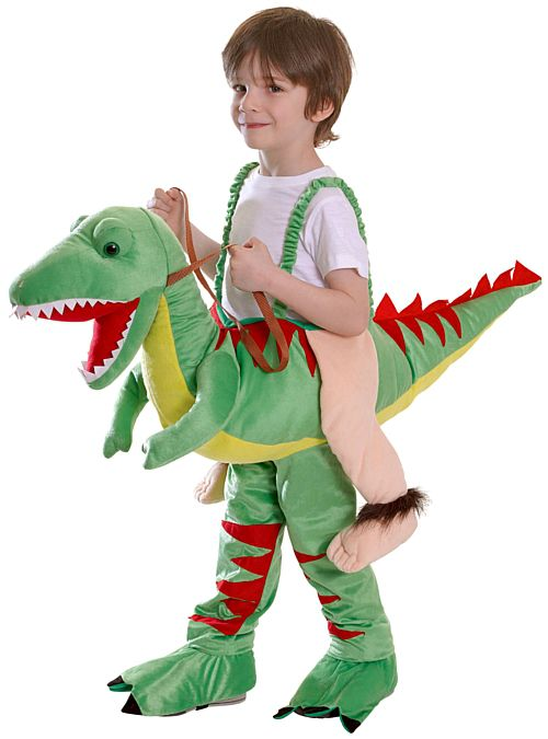 Ride On Dinosaur Fancy Dress Costume - One Size