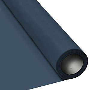 Navy Blue Paper Table Roll - 8m