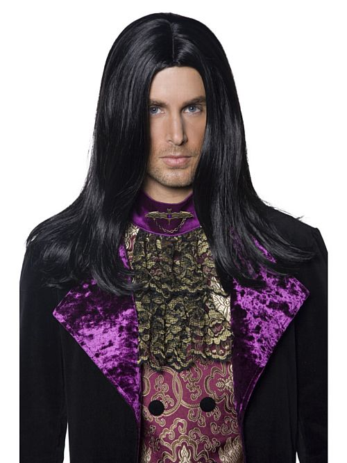 Black Gothic Count Wig