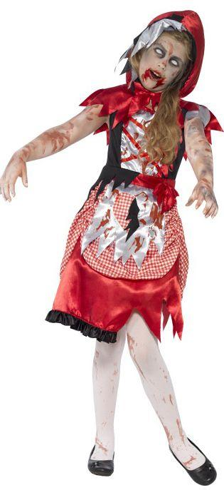 Children's Zombie Red Riding Hood Costume
