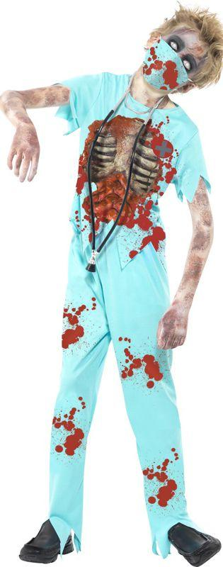 Children's Zombie Surgeon Costume