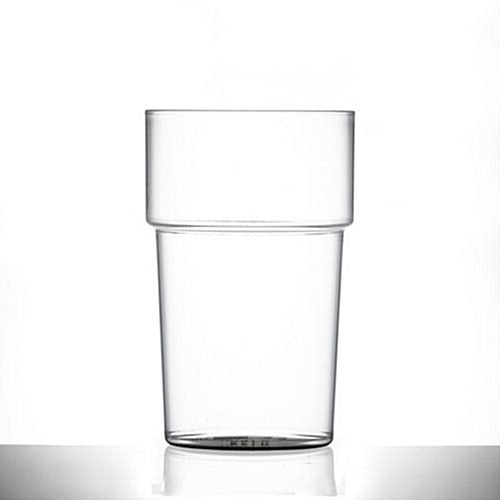 Reusable Plastic Pint Glass - 20oz/568ml
