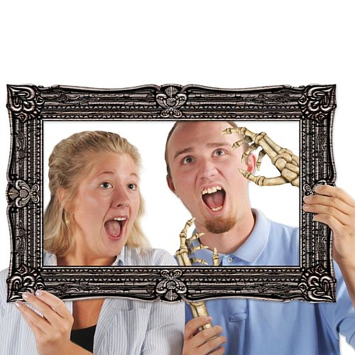 Halloween Photo Fun Frame and Booth Props - 59.7cm