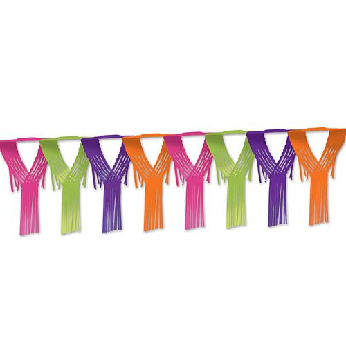 Bright Drop Fringe Garland - 3.66m