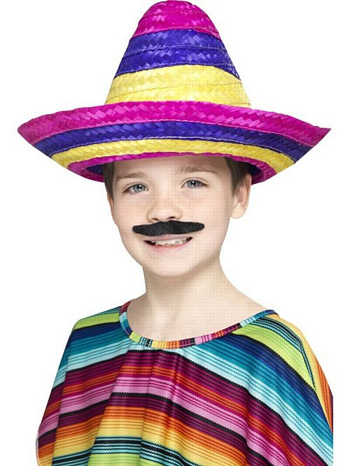 Children's Multi-Coloured Sombrero