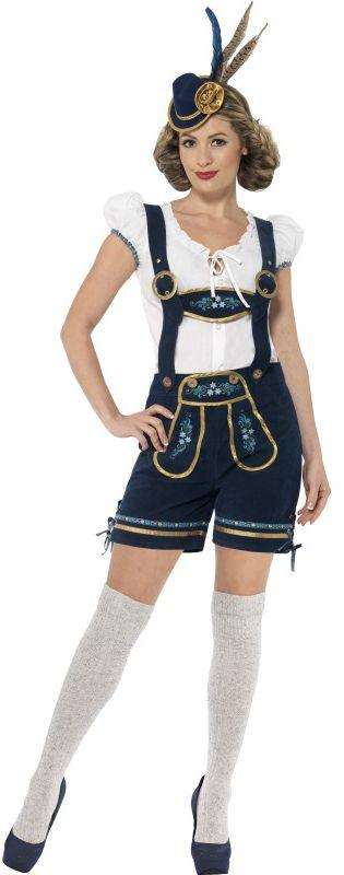 Traditional Deluxe Women's Bavarian Costume