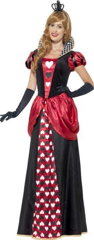 Royal Red Queen Of Hearts Costume
