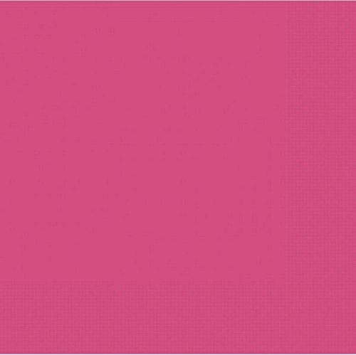 Hot Pink Dinner Napkins - 40cm - Pack of 50