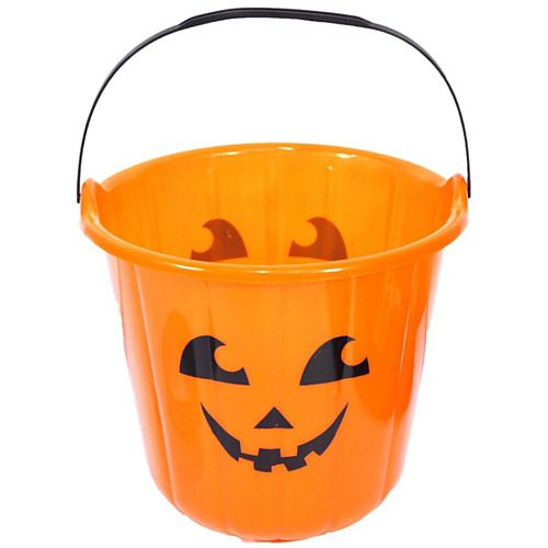 Orange Pumpkin Buckets - 18cm