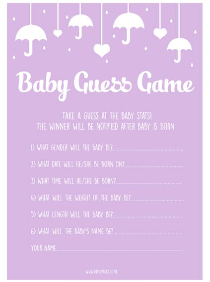 Baby Guess Game- Pack Of 8