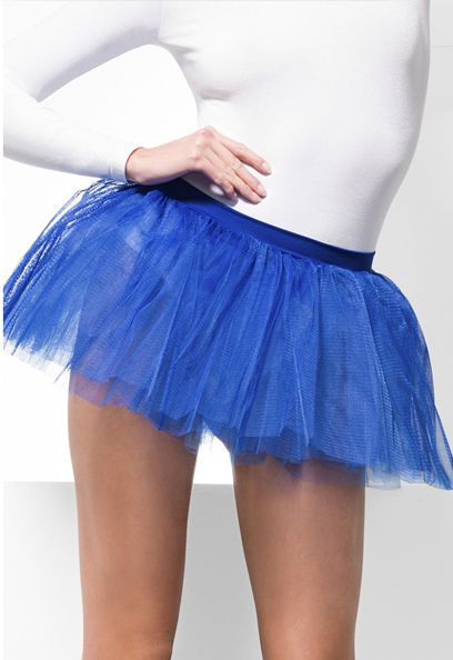 Click to view product details and reviews for Blue Net Tutu.