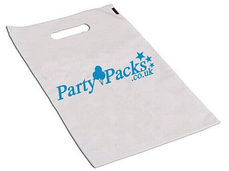 Click to view product details and reviews for 1000 Custom Plastic Party Bags 1 Colour Print.