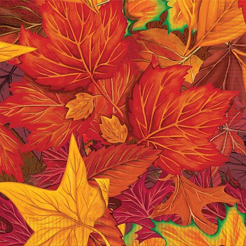 Autumn Leaf Luncheon Napkins - 2-ply - 32.4cm - Pack of 16