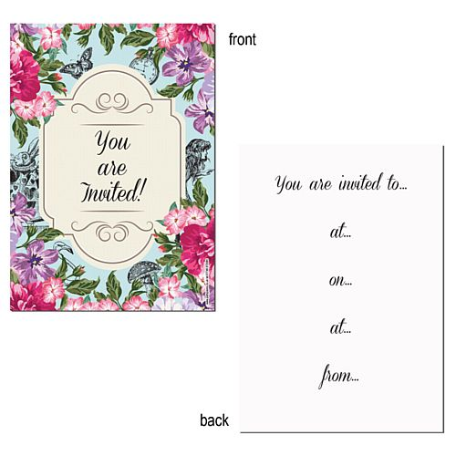 Truly Wonderland Invites - Pack of 8