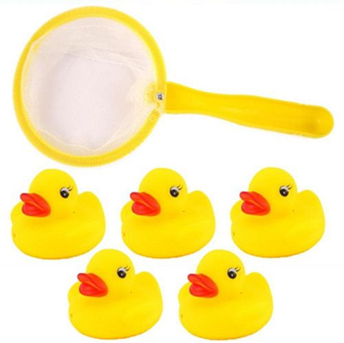 Mini Duck Bathtub Fishing Game - 3cm - Set of 6