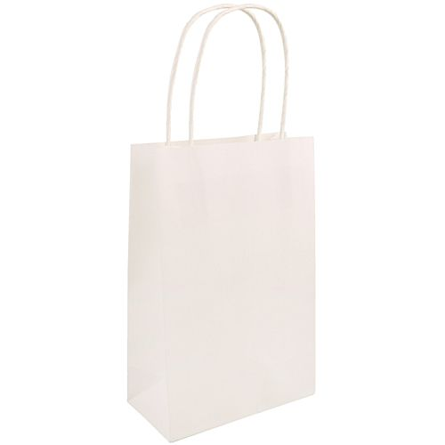 White Paper Party Bags - 21cm - Each