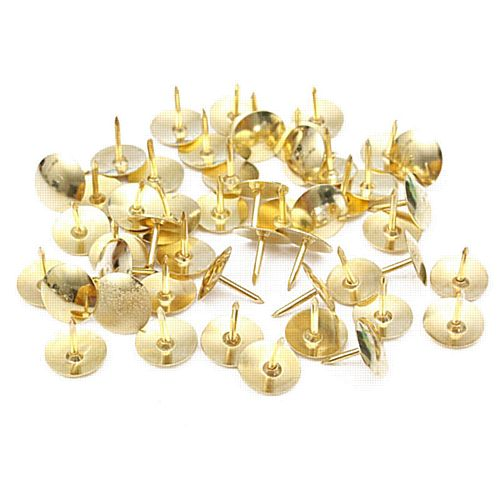 Brass Drawing Pins - Pack of 120