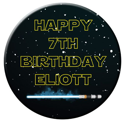 Personalised Badge 58mm- Star Wars