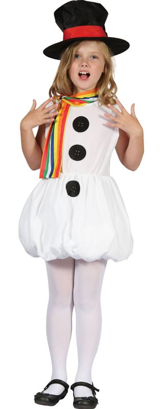 Snow Girl Costume