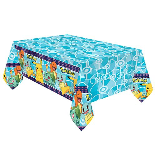 Pokemon Plastic Tablecloth - 1.8m