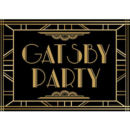 Gatsby 1920's Poster- A3