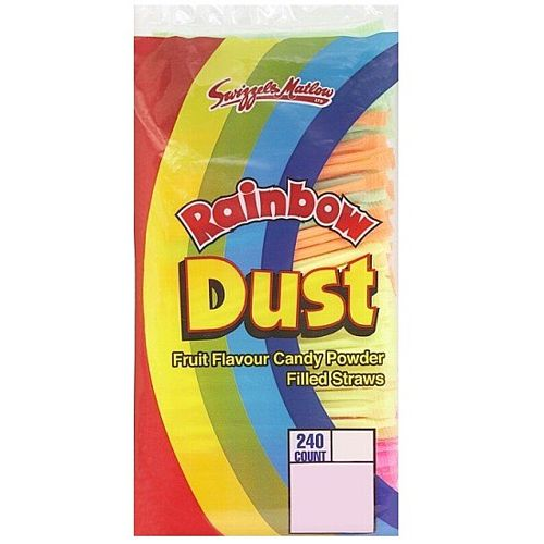 Rainbow Dust Straw - Pack of 240