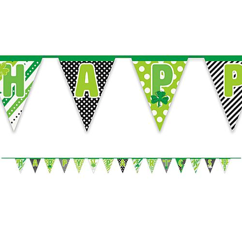 Happy St. Patrick's Day Paper Bunting - 4.27m