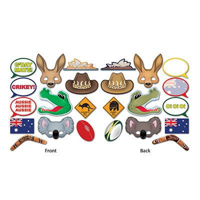 Australian Selfie Kit - 27.9cm - Pack of 12