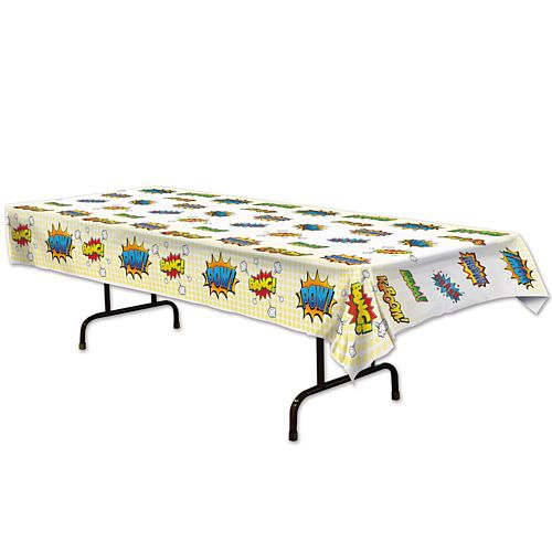 Superhero Tablecloth - 2.74m