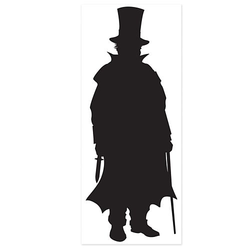 Sherlock Holmes Villain Wall Decoration - 1.83m - Each