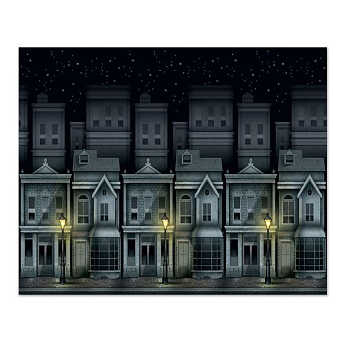 Victorian Townscape Backdrop - 1.22m - Each