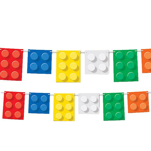 Building Blocks Pennant Bunting - 1.83m