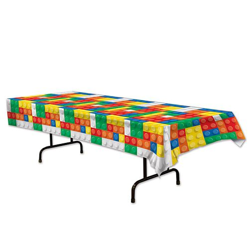 Building Blocks Tablecloth - 2.74m