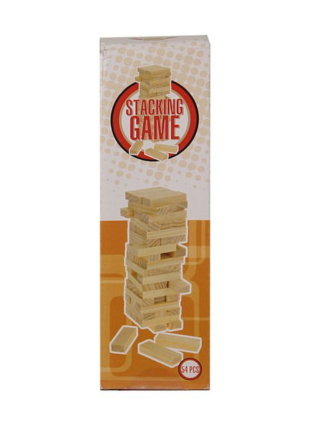 Small Wooden Stacking Game - 54 pieces