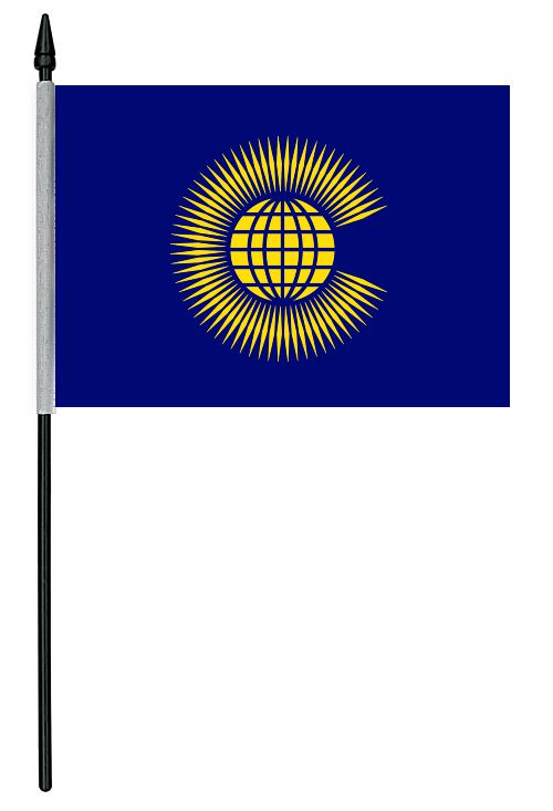 "Commonwealth Cloth Table Flag - 4"" x 6"""