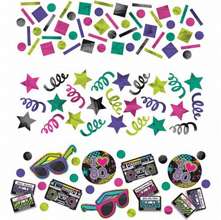 Totally 80s Confetti Value Pack - 34g