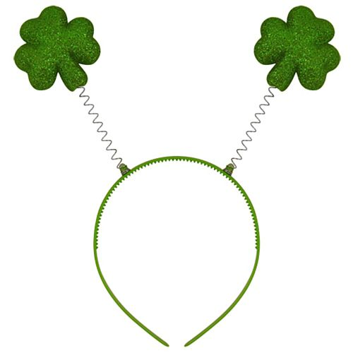 Glitter Shamrocks Headboppers