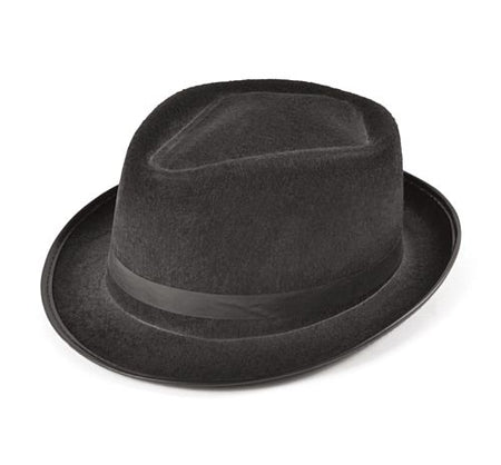 Blues Brother's Trilby Hat - Felt