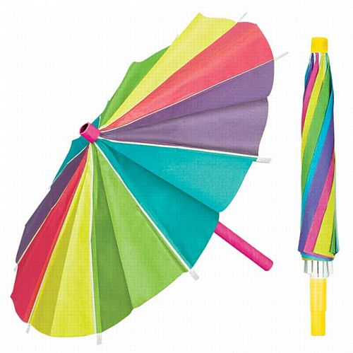 Paper Umbrella Decorations - 38cm - Pack of 3