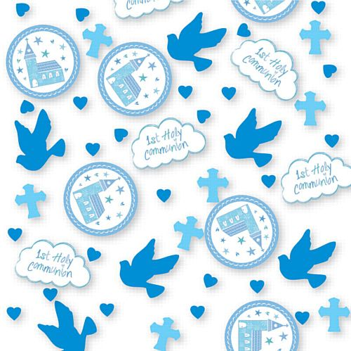 Communion Church Blue Confetti - 14g