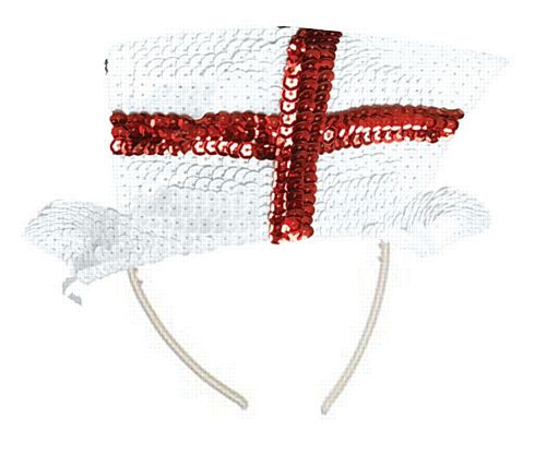 England St George Sequin Tiara