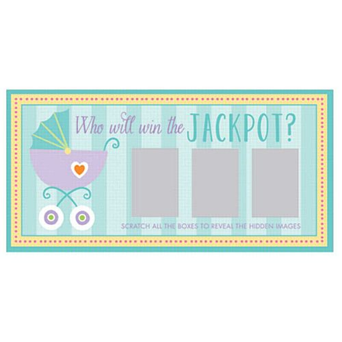 Baby Shower Scratch Cards- Pack of 12